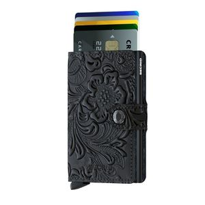 Miniwallet Ornament Mor Black