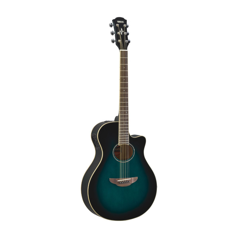 Yamaha Apx600 Electric-Acoustic Guitar Oriental Blue Burst