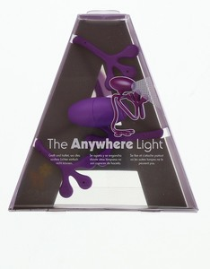 Anywhere light positively purple