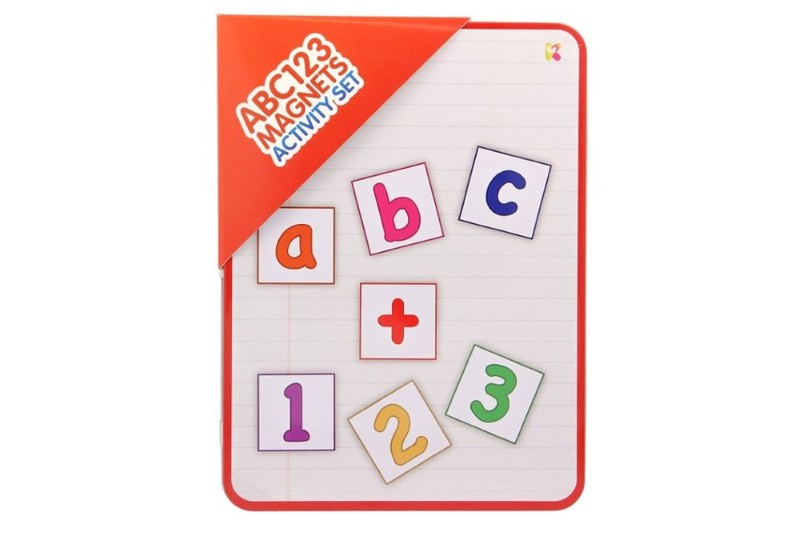 Abc123 magnets activity set