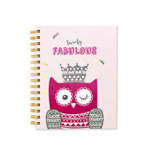 Twooly Fabulous A5 Organiser Single Owl