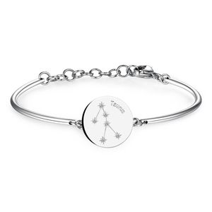Bracelet With Engraved Zodiac