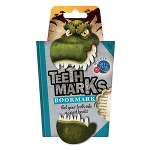 Teeth-Marks Bookmarks T-Rex