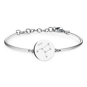 Bracelet With Engraved Zodiac Swarovsk