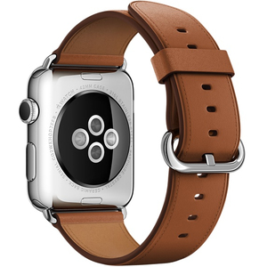 Apple Saddle Brown Classic Buckle Apple Watch 42mm