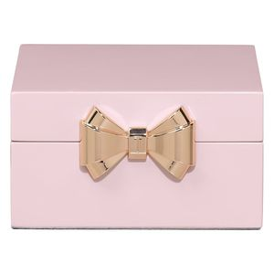 Lacquer Small Pink Jewellery Box