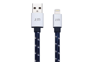 Dc268Bsi Jm Alucable Flat Braided Lightning 1.2 M