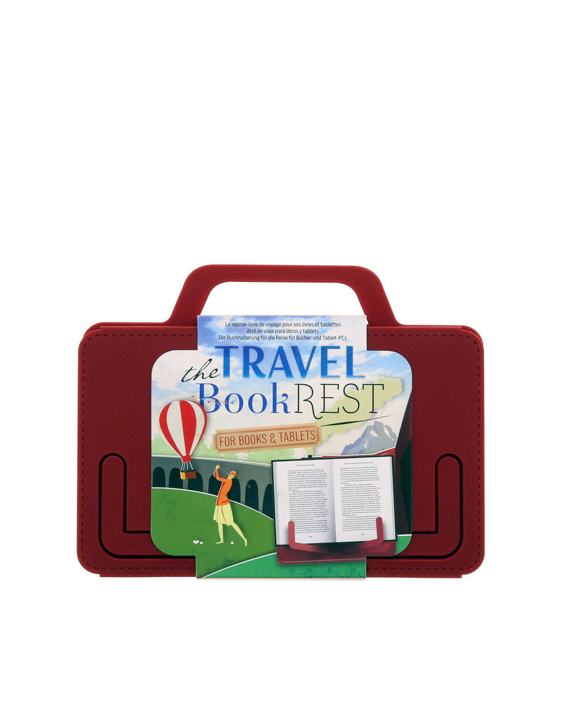 The Traveler Book Rest Country Crimson