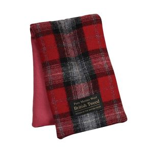 Tweed Range Body Wrap Traditional Red Plaid