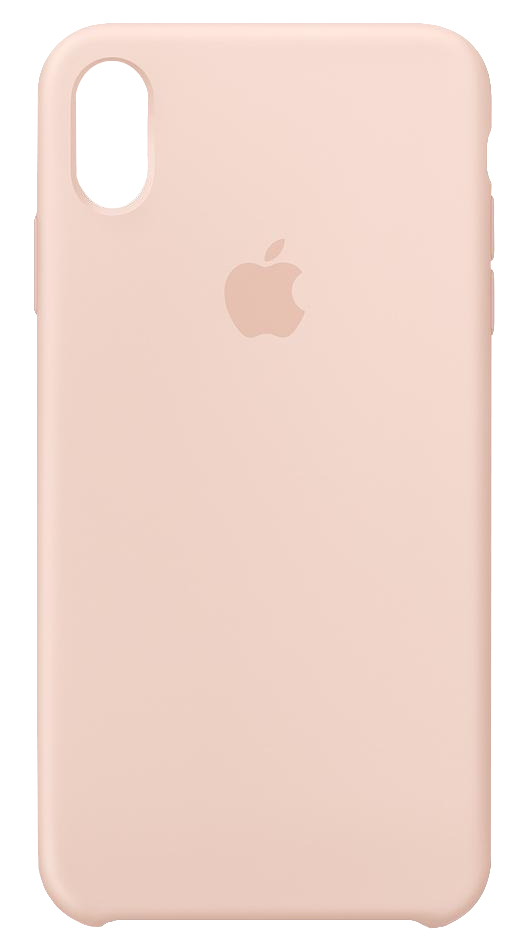 the latest 13b97 9ea86 iPhone XS Max Silicone Case Pink Sand