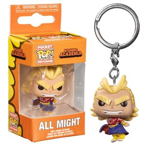 Pop Keychain Mha All Might Silver Age