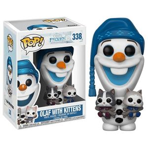 Pop Disney Olaf's Frozen Adventureolaf W Cats