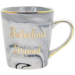 Marble Fabulous Friend Mug
