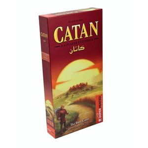 Catan 5 6 Players Ext Arabic I English bilingual