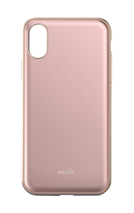 Moshi iGlaze Case Taupe Pink for iPhone X