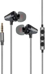 Promate In Ear Stereomearphones With Inline Mic Black