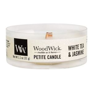 Woodwick petite candle 12 pk white tea jasmine