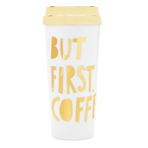 Deluxe hot stuff thermal mug but first coffee special edition