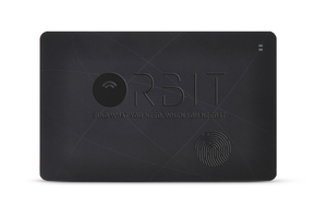Orbit Card Black Wallet Tracker