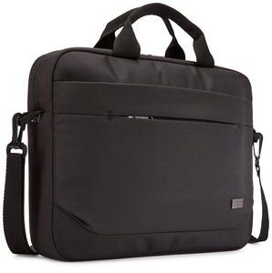 "Case Logic Advantage 14"" Attaché notebook case 35.6 cm (14"") Messenger case Black"