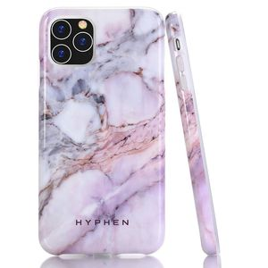 Hyphen Marble Case Pink Blue Ip11 6 5