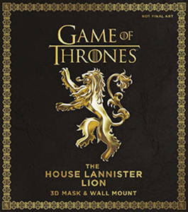 Game Of Thrones The House Lannister Lion