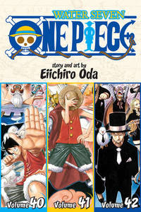 One Piece: Volumes 40-41-42