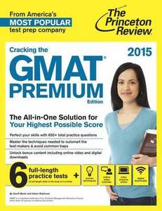 Cracking the GMAT with 6 Practice Tests: 2016