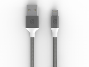 Usb To Lightning Cable Premium 10Ft In Silver New