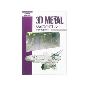 Promotional 3D Metal World Space Shuffle Puzzle