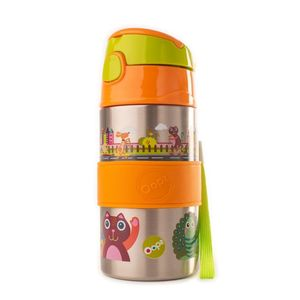 Chic Stainless Steel Bottle City