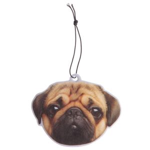 Fun Air Freshener Peach Fragranced Pug