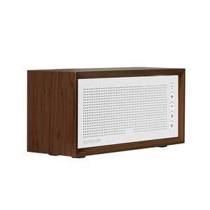Promate Stereo Speaker And Fm Radio Brown