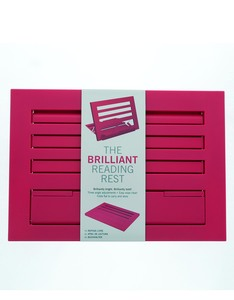 Brilliant Reading Rest Hot Pink