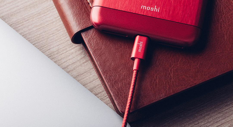 Moshi 99MO023321 mobile phone cable USB A Lightning Red 1.2 m