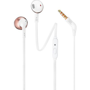 JBL T205 In-Ear Binaural Wired Earphones Rose Gold