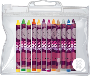 GoGoPo Pack of Crayons