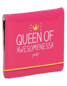 Queen of awesomeness cardholder