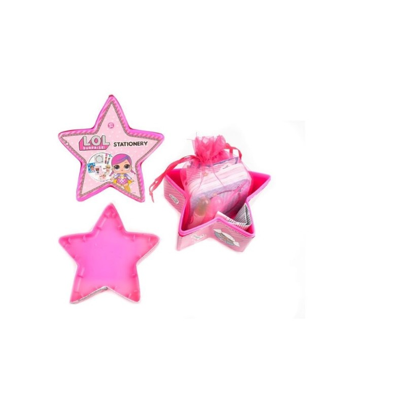 L.O.L. Surprise Star Stationery Set Medium [Mystery Pack]