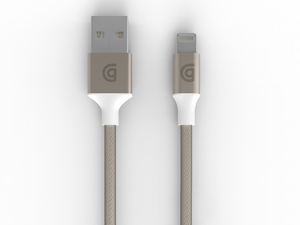 Griffin Gc43437 Mobile Phone Cable Usb Lightning Gold 3.05 M