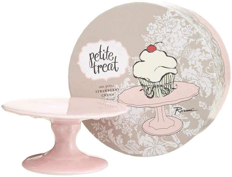 Rosanna Strawberry Cream Cake Stand Pink