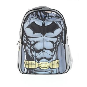 Batman Backpack 2 Main Compartments And2 Side Pockets 18 3D Muscle