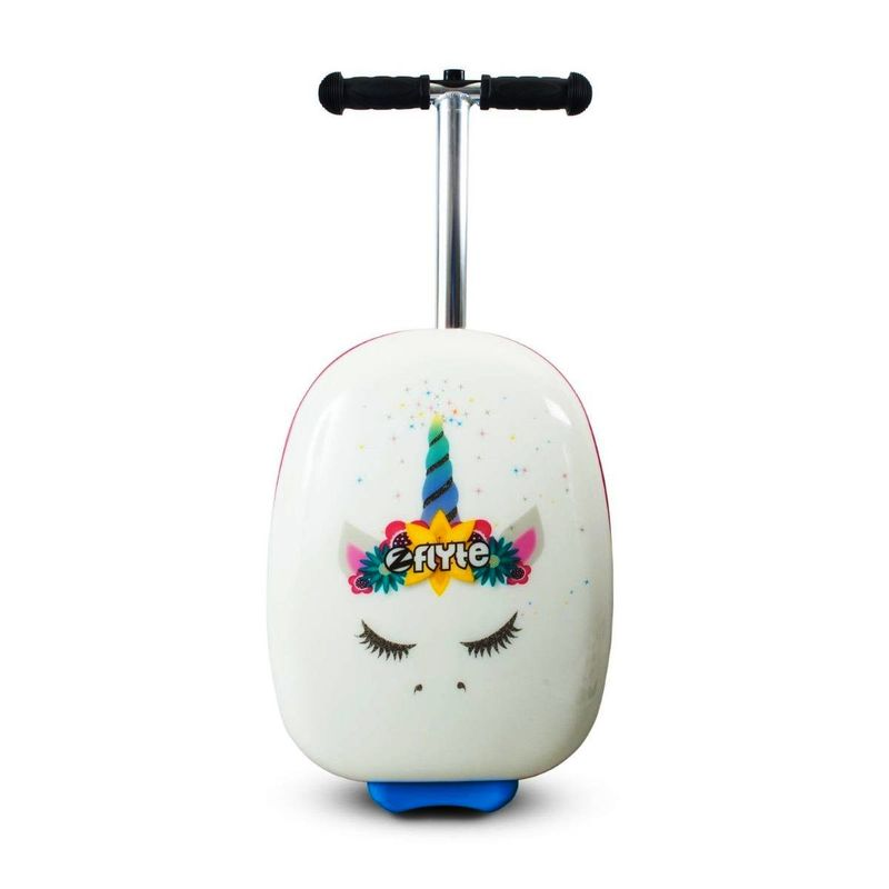 Zinc Flyte Chloe The Unicorn Scooter Blue/White