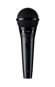 Shure Pga58-Xlr Stage/Performance Microphone Wired Black