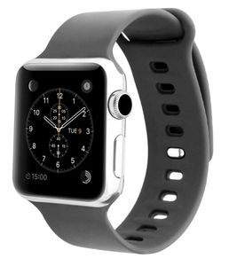 Promate Silicon Strap 42Mm Applewatch Medium Large Grey