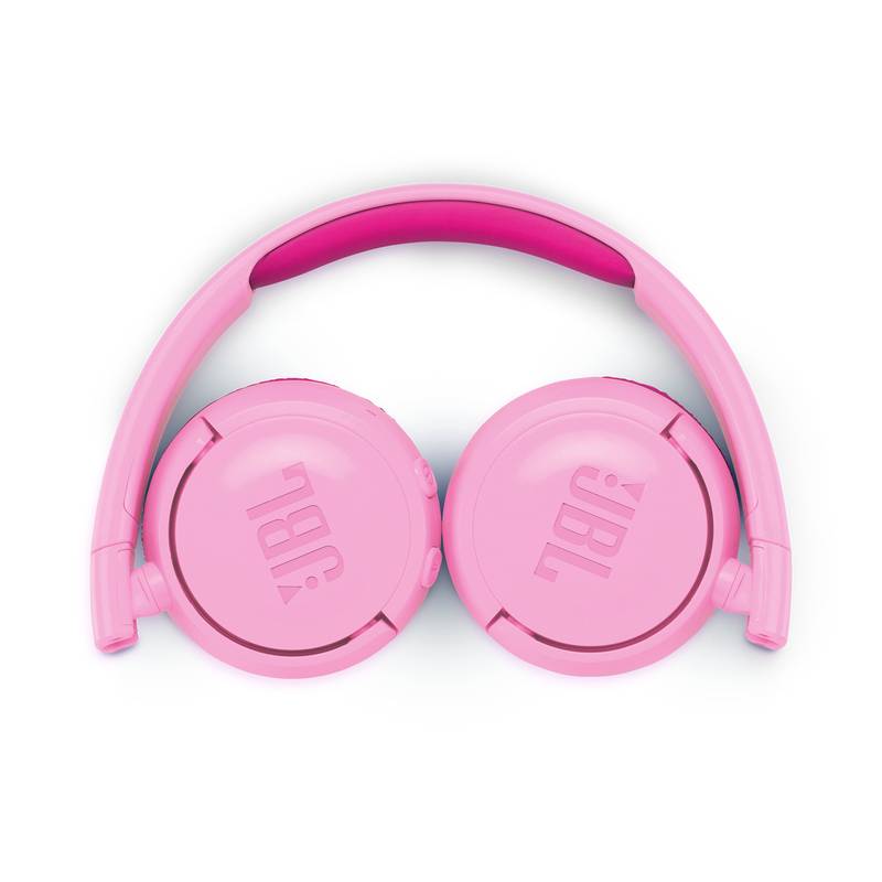 jbl junior 300 pink bluetooth headphones headphones electronics virgin ksa site. Black Bedroom Furniture Sets. Home Design Ideas
