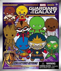 Marvel Guardians Of The Galaxy 3D Foam Collectible Keyring