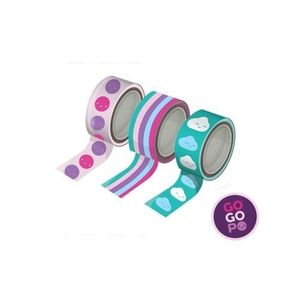 Gogopo Washi Tape Triple Pack