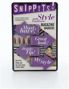 Snippits Magazine Page Markers Style And Fashion