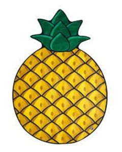 Bigmouth Beach Blanket Pineapple Bmbtpa